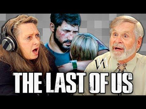 Реакция стариков на The Last of Us   Иностранцы пенсионеры играют в игру Последние из нас