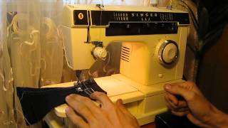 Sewing machine Швейная машина SINGER 7105 test
