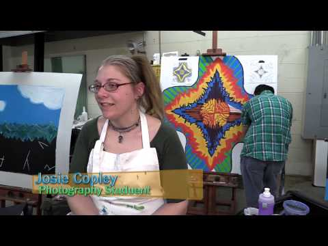 Art, Design and Marketing Promotional Video for Hocking College