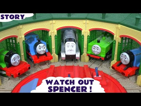 Thomas And Friends Play Doh Story Accident Crash Minions Thomas Watch Out Spencer Play-doh video