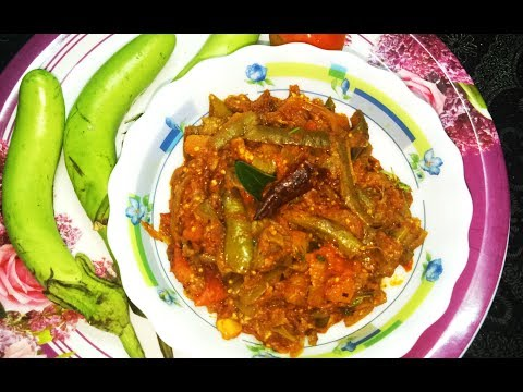 Quick & Easy  Brinjal Tomato Curry recipe in Telugu |  రుచికరమైన వంకాయ టమాటో కూర