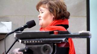 Susan Boyle singing perfect day live on the Today Show  23rd November 2010