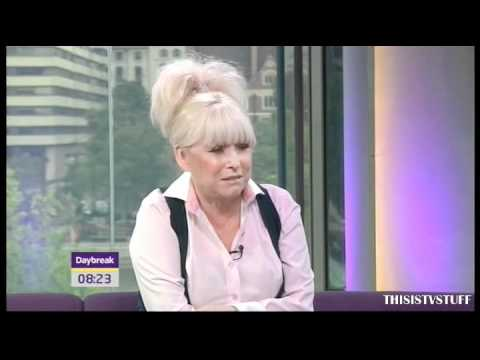 Barbara Windsor (Peggy Mitchell) on Daybreak - 13/09/2010