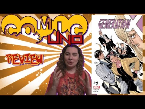 Comic Uno Generation X #1 (review)