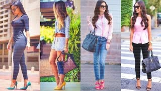 OUTFITS CON JEANS Y COMPLEMENTOS PARA LUCIR CHIC