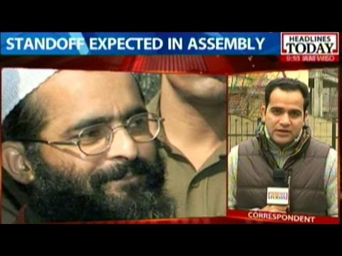 BJP-PDP Confrontation Over Afzal Guru Remains
