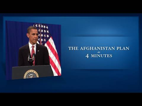 President Obama's Afghanistan Plan in 4 Minutes