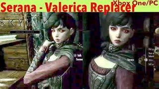 Skyrim SE Xbox One/PC Mods Serana - Valerica Replacer