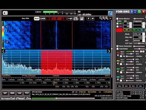 MW DX: Radio Capital 1470 kHz from Peru received in Germany on Elad FDM-S2