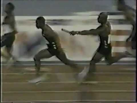 Donovan Bailey/Bruny Surin/G.Gilbert/T.Betty (DQ) - World Championships (4x100m)-Seville,Spain(1999)