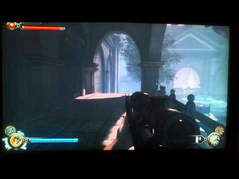1999 Mode Lady Comstock Ghost 3rd encounter easy method (sniper rifle) bioshock infinite