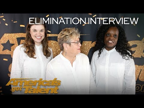Elimination Interview: Angel City Chorale Recalls Their Performances - America's Got Talent 2018
