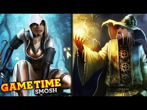 SLAYING DRAGONS IN TRINE 2 (Gametime w/Smosh)