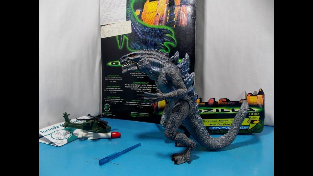 Godzilla trendmasters 1998 Review - YouTube