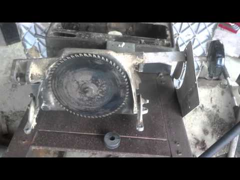 Craftsman Table Saw Arbor Rebuild - Part 1: Disassembly