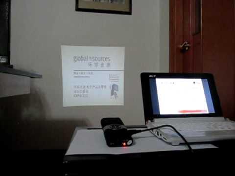 Mini Projector connect PC