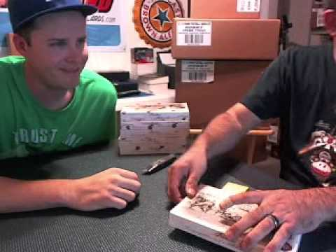 2012 Historic Autographs Multi Sport Peerless Edition 10 Box Break