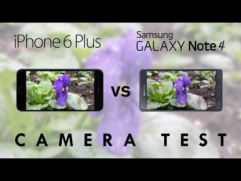 iPhone 6 Plus vs Samsung Galaxy Note 4 - Camera Test Comparison