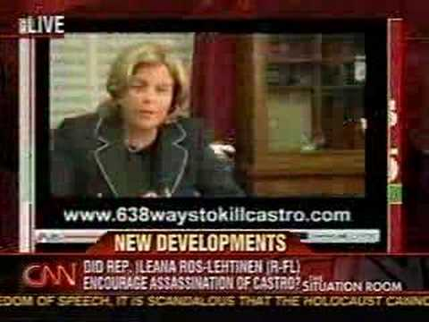 Ros-Lehtinen & the Kill Castro Controversy on CNN