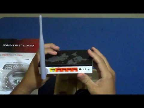 Roteador wireless Speed Router AP Rio Smart Lan 150 MBps