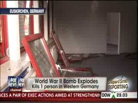 WWII Bomb Explodes in Germany, Killing One 1-3-14