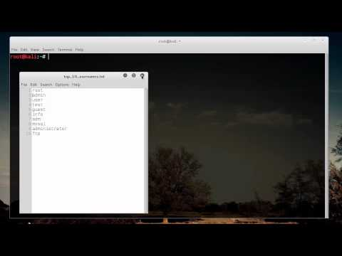 WiFi Wireless Security Tutorial - 13 - Hydra for Router Login