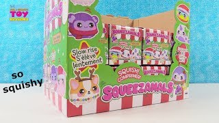 Squeezamals Slow Rise Holiday Series Squishy Blind Box Toy Review | PSToyReviews