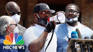 'Educate Yourself!': George Floyd's Brother Calls For Peaceful Protests | NBC News NOW