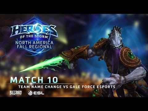 Team Name Change Vs Gale Force ESports - NA Fall Regional #1 - Match 10 | Group B | Lower Bracket