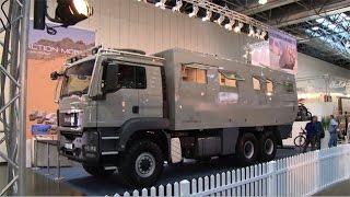 Das Männermobil auf dem Caravan Salon 2015