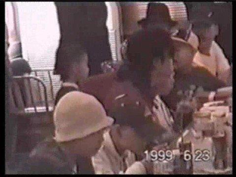 Michael Jackson Attends Party In Korea 1999 Rare Clip!! video
