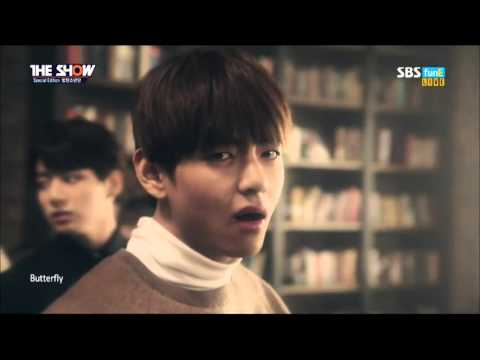 151208 The Show 방탄소년단BTS   Butterfly by플로라