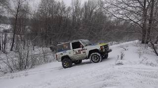 ISUZU Trooper Ice test gaz 66