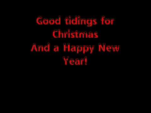 Aly and Aj - We wish you a Merry Christmas (with lyrics on screen...
