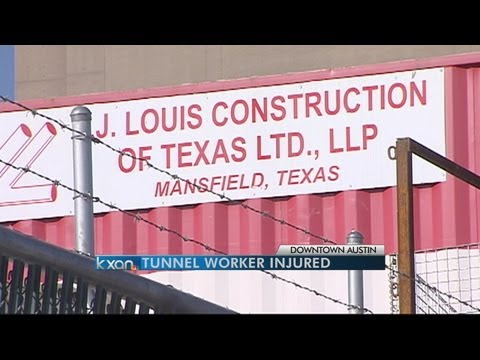 Construction Worker Injured in Waller Creek Tunnel Accident