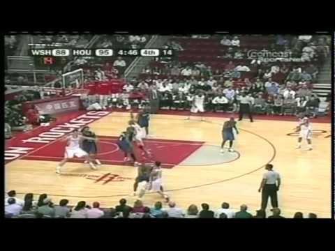 Yao Ming 38 pts,11 reb, season 05/06 rockets vs wizards