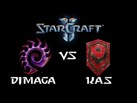 StarCraft 2 - DIMAGA [Z] vs Kas [T] (Commentary)