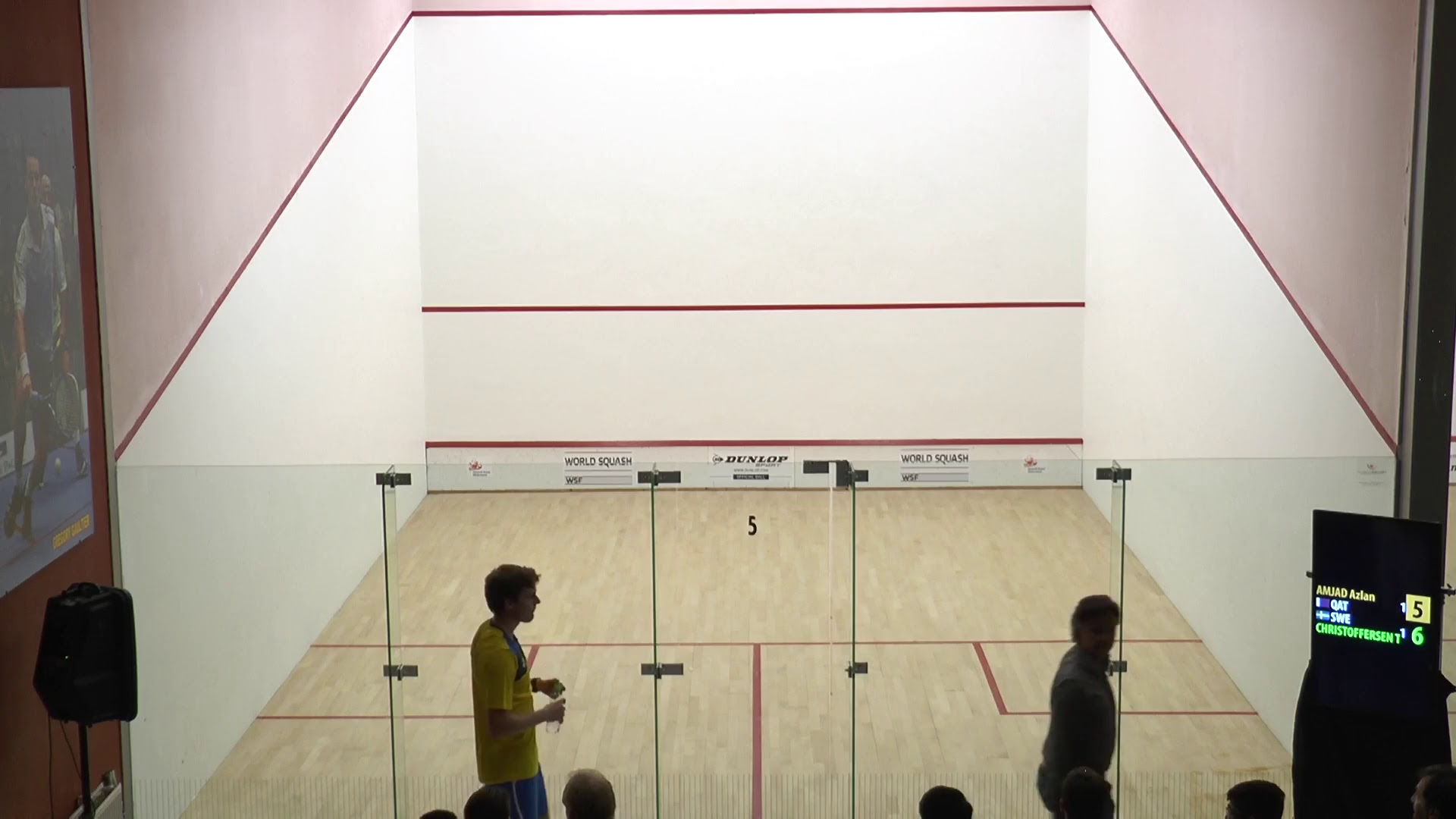 2015 World Junior Squash Championships day 3
