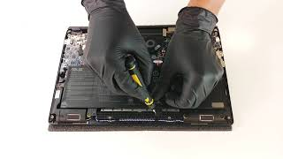 ASUS ZenBook Pro 14 UX480 disassembly and upgrade options