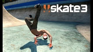 Skate 3 - My Back!!! [Playstation 3 Gameplay]