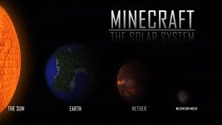Minecraft Solar System Animation by NinjaCharlieT