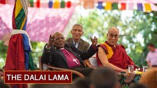 The Dalai Lama and Archbishop Tutu Interact with TCV Students