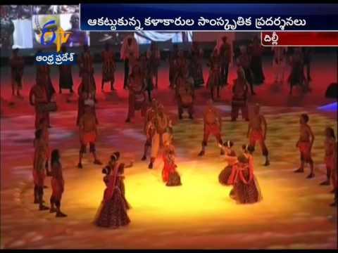 Colorful Cultural Programs Draws The Attention Of Everyone At Indo African Summit