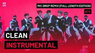 Instrumental Bts 방탄소년단 Mic Drop Steve Aoki Remix Full Length Edition