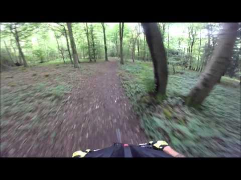 Queen Elizabeth Country Park MTB trail Hampshire