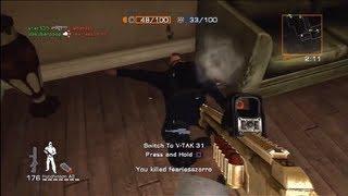 007 Quantum of Solace - Team Conflict - Embassy (QoS Online Multiplayer Gameplay)