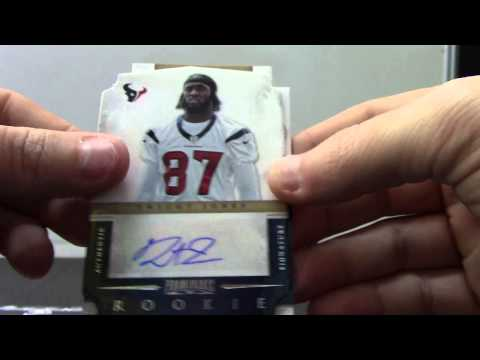 Tyler's 2012 BLACK & Prominence Football 2 Box Break