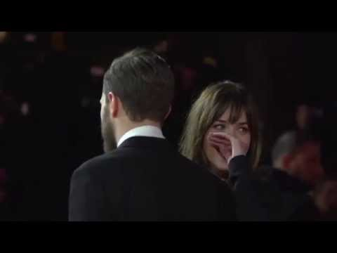 SLOMO -  'Fifity Shades of Grey' Red Carpet - 65th Berlin Film Festival