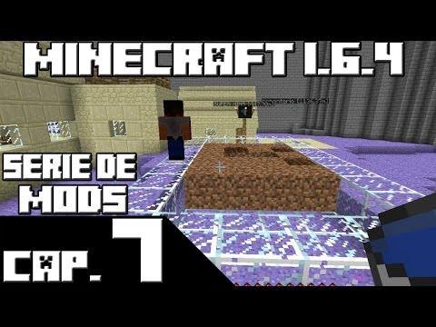 Minecraft 1.6.4 SERIE DE MODS! Capitulo 7 SUPER CULTIVO!