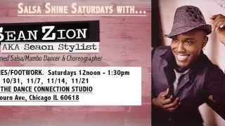 OnSean Zion Salsa Shine Saturdays In Chicago - 6 Week Series (Seaon Stylist)